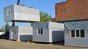 Модульный дом. Строительство дома в заводских условиях.